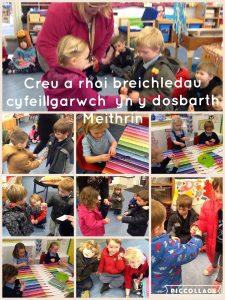 Creu a Rhoi Breichledau Cyfeillgarwch
